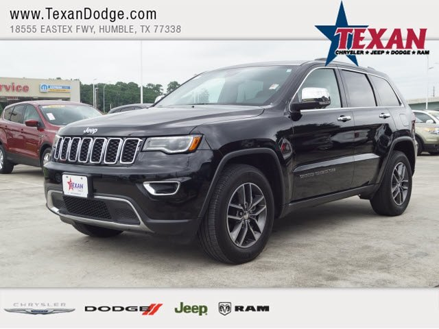 Pre Owned 2018 Jeep Grand Cherokee Limited