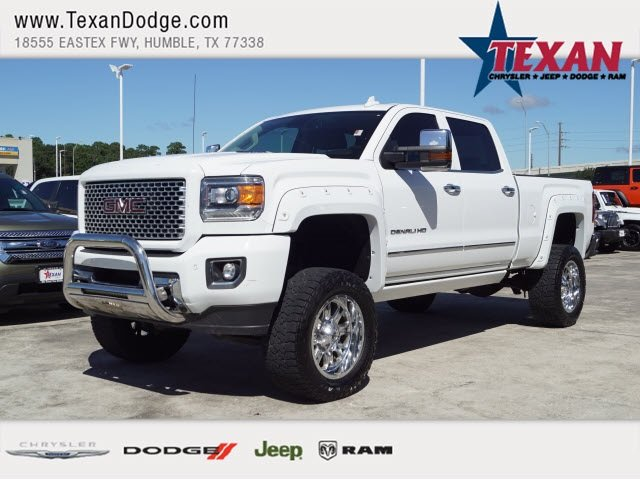 Pre Owned 2015 GMC Sierra 2500HD Available WiFi Denali