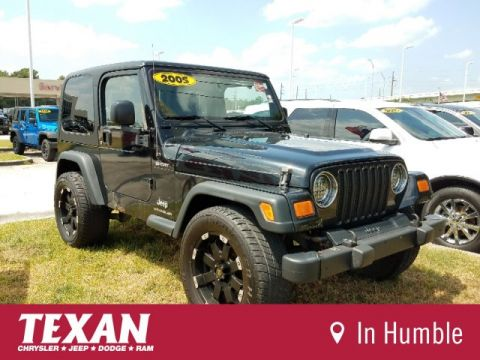 Pre-Owned 2005 Jeep Wrangler Sport